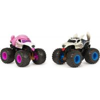 Monster Jam Sběratelská auta dvojbalení 1:64 Poodle a Husky