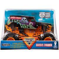 Monster Jam Sběratelská Die-Cast auta 1:24 Grave Digger oranžová konstrukce 3