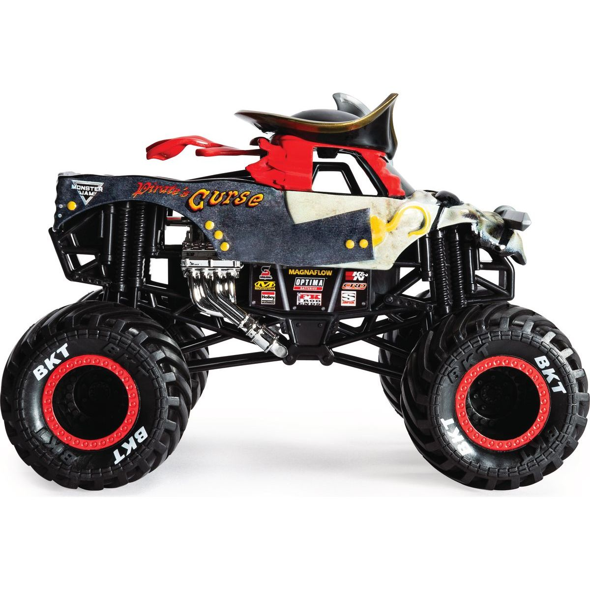 Monster Jam Sběratelská Die-Cast auta 1:24 Pirates Curse