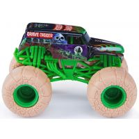 Monster Jam Sběratelská Die-Cast auta 1:64 Grave Digger svetlé kolesá