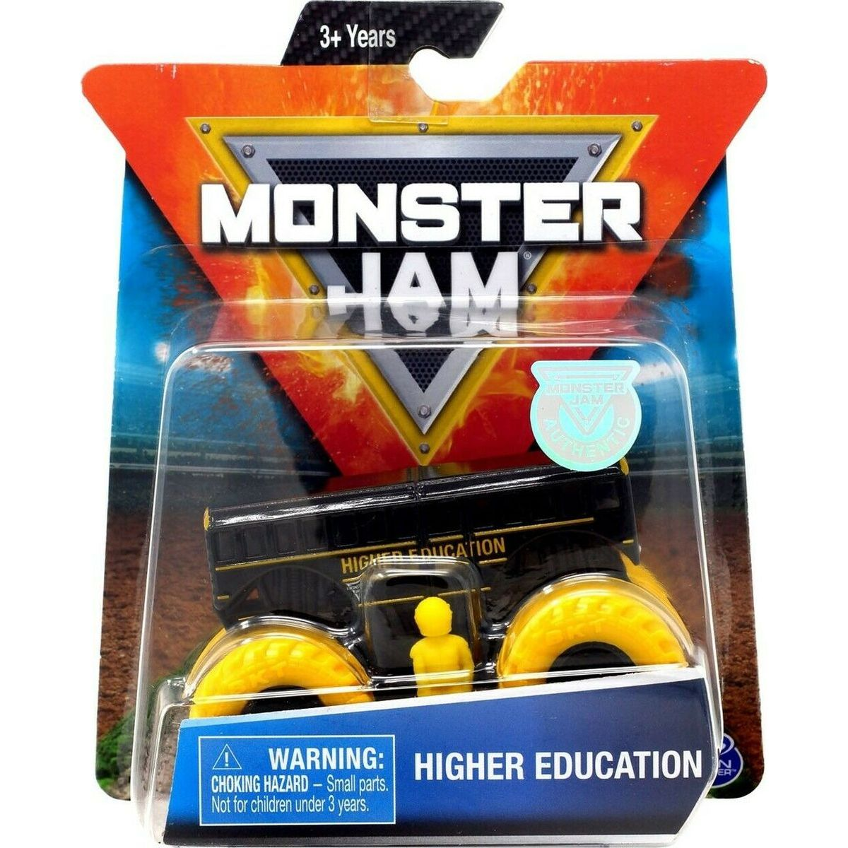 Monster Jam Sběratelská Die-Cast auta 1:64 Higher Education