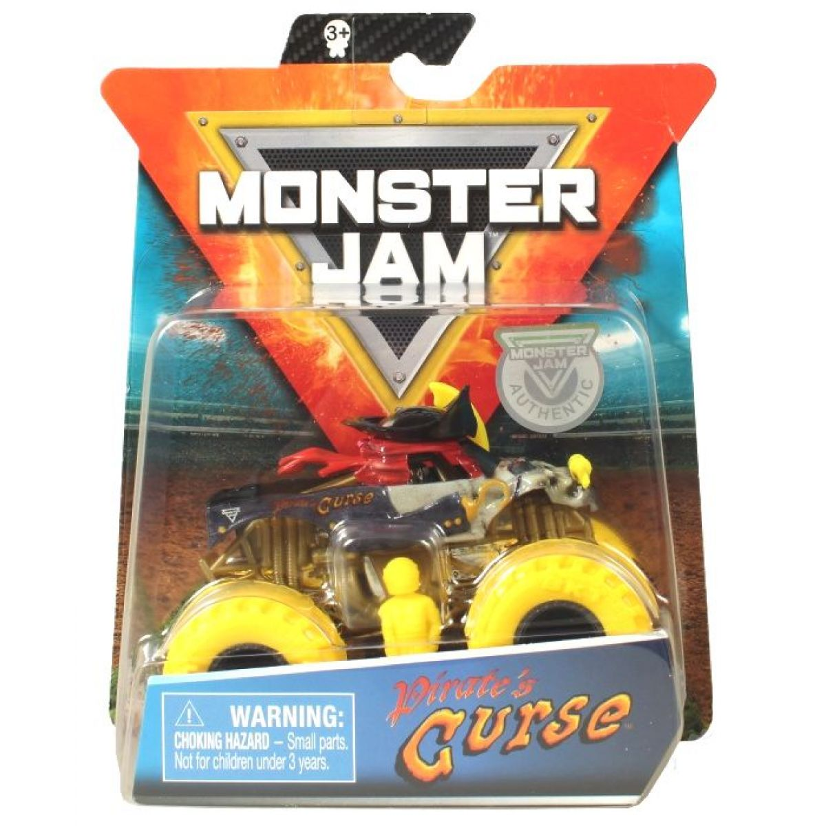Monster Jam Sběratelská Die-Cast auta 1:64 Pirates Curse