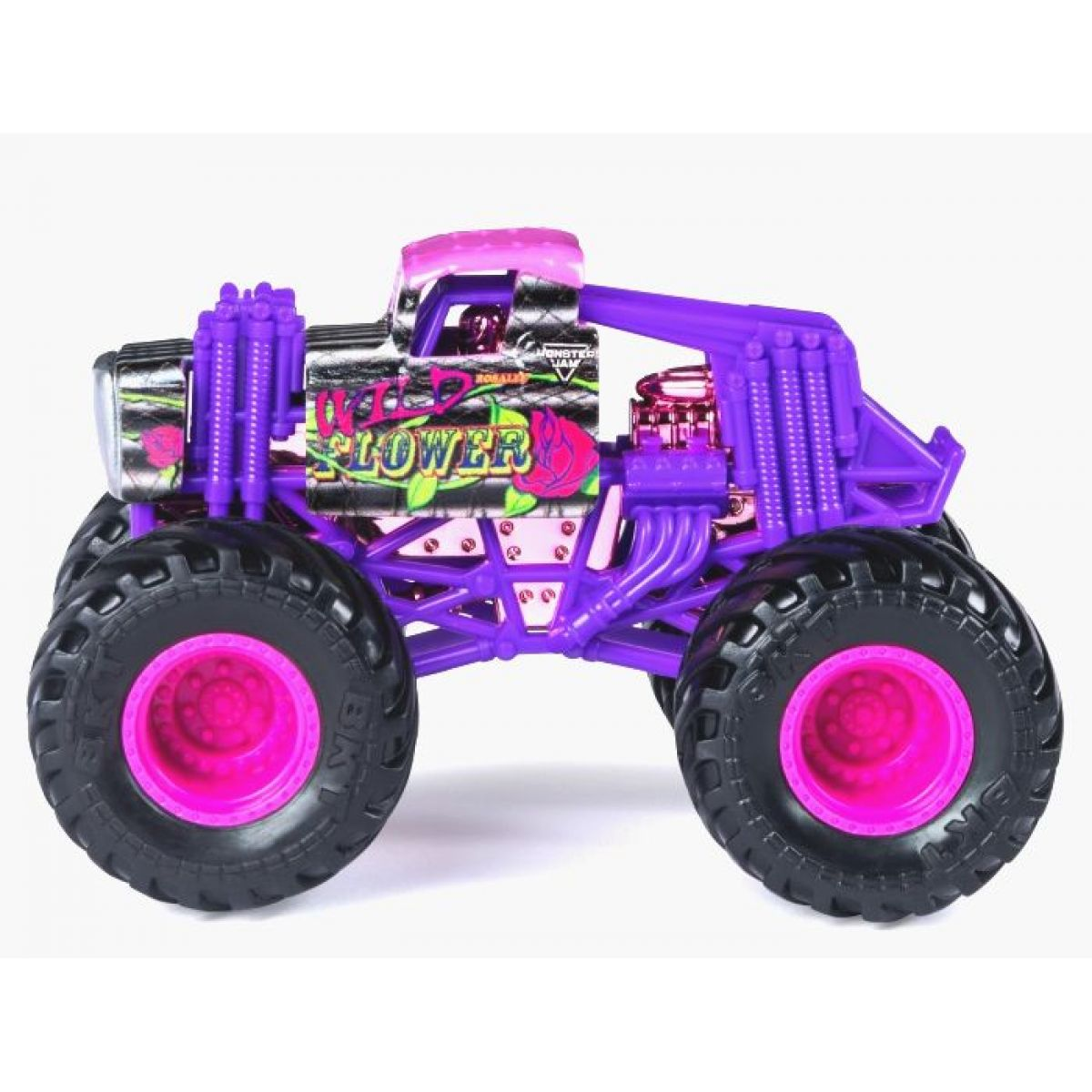 Monster Jam Sběratelská Die-Cast auta 1:64 Wild Flower