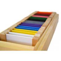 Montessori Barevné destičky 2 Rozšířená sada
