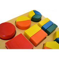 Montessori Geometrický tác 2