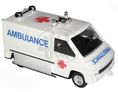 Vista 0102-6 - Plastový model Renault Trafic - Ambulance