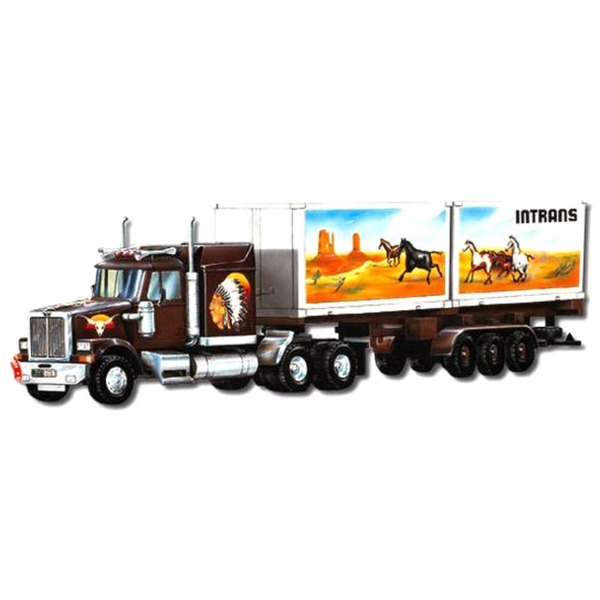 Monti System 25 Western Star Intrans Container