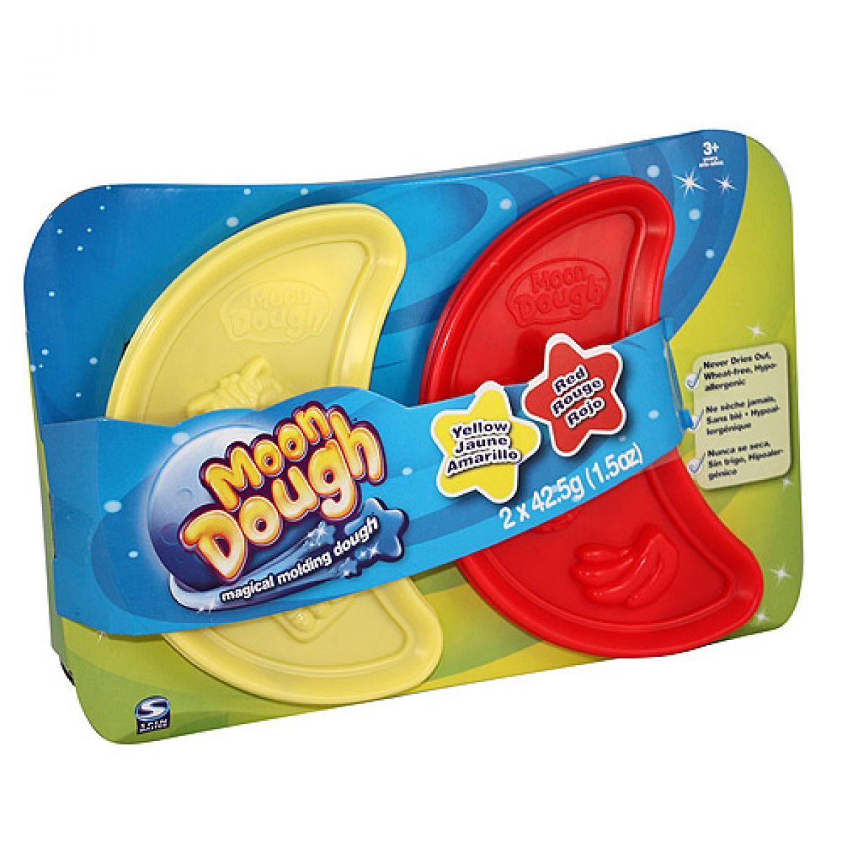 Moon Dough Náhradní náplň 2ks - Fialová a oranžová