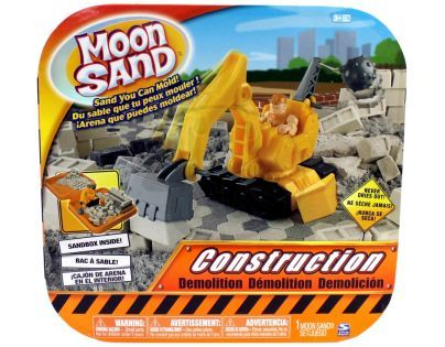 Moon Sand Sada velká - Construction demolition