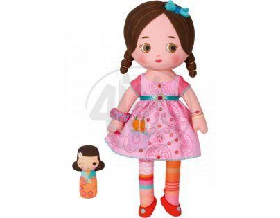 Mooshka  hadrová panenka Katia 33 cm