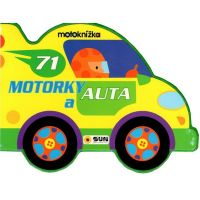 Sun Motoknížka Motorky a auta leporelo