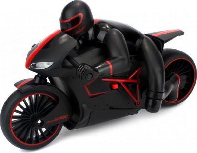 Made Motorka s řidičem se světlem 20 km/h - Červená