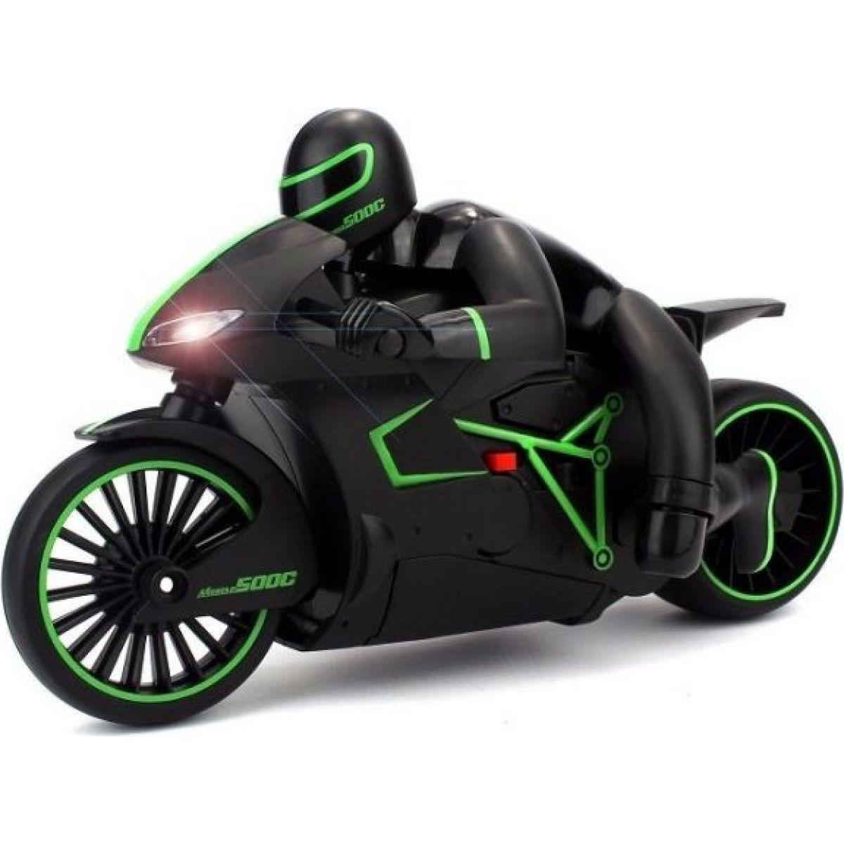 Made Motorka s řidičem se světlem 20 km/h - Zelená