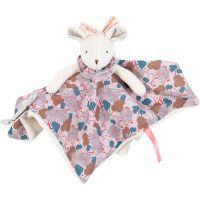 Moulin Roty Mazlící ubrousek růžová myška Lala