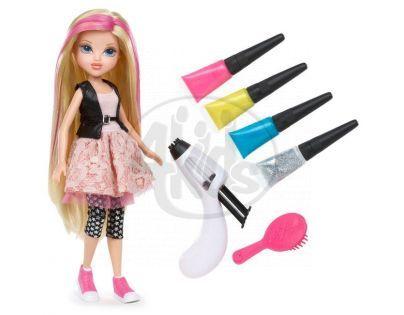 MOXIE GIRLS Magické vlasy s barevným melírem - Blondýnka