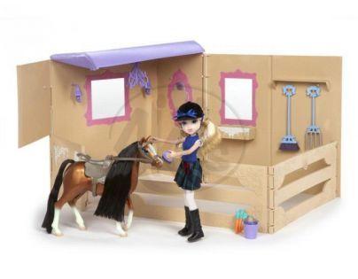 MGA 509844 - Moxie Girlz Jezdkyně s poníkem a stájí