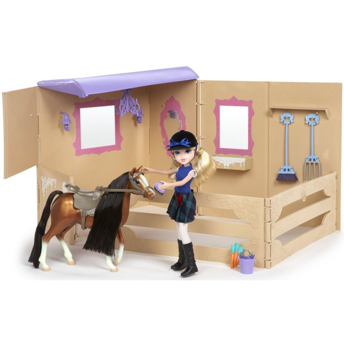 Moxie Girlz Stáj s koněm