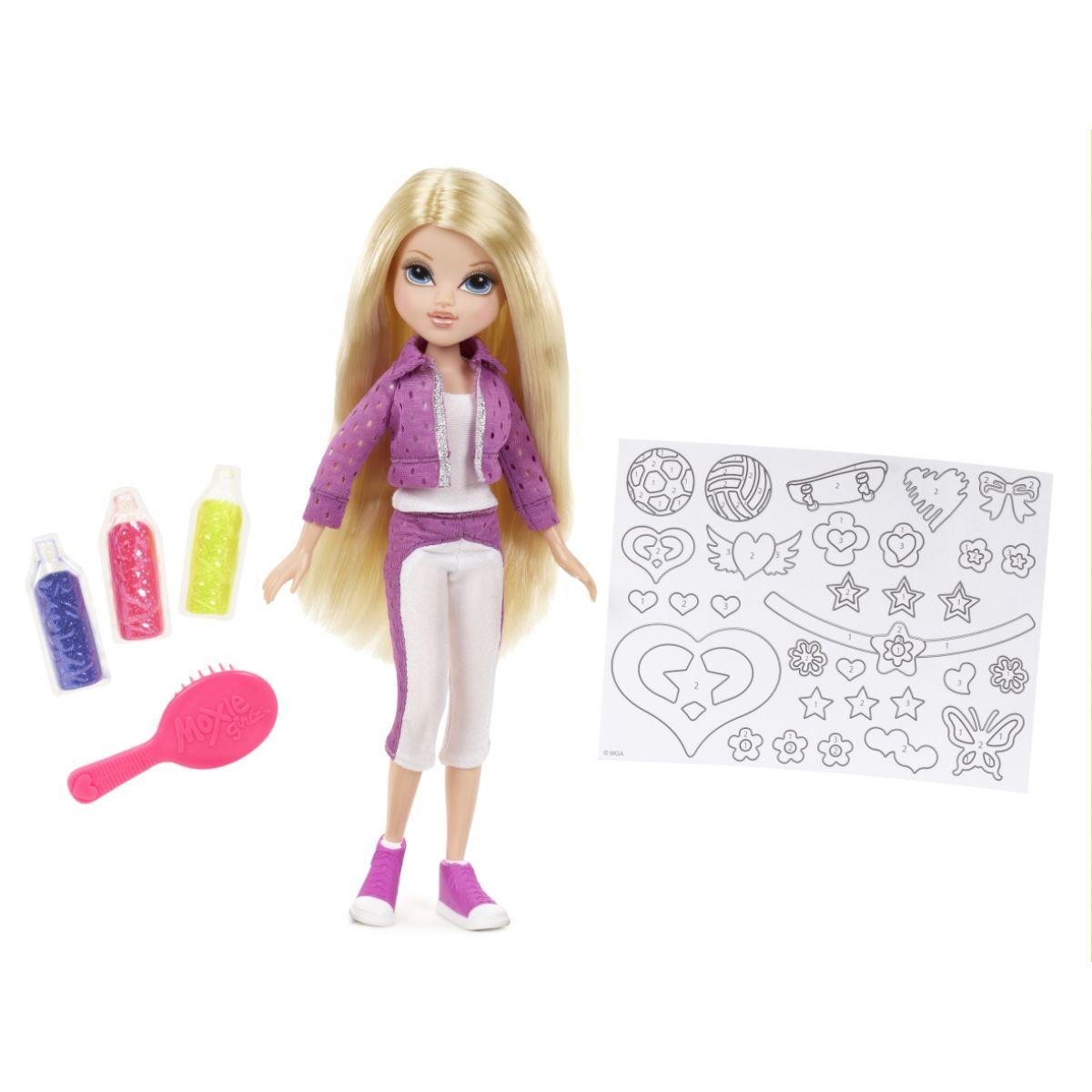 Moxie Girlz Třpytivá panenka Avery