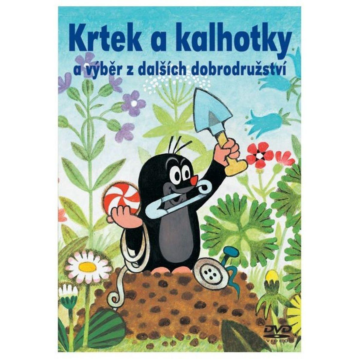 1214a50251e DVD - Krtek a kalhotky