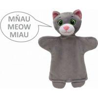 MÚ Brno Kočka 26 cm zvukový maňásek