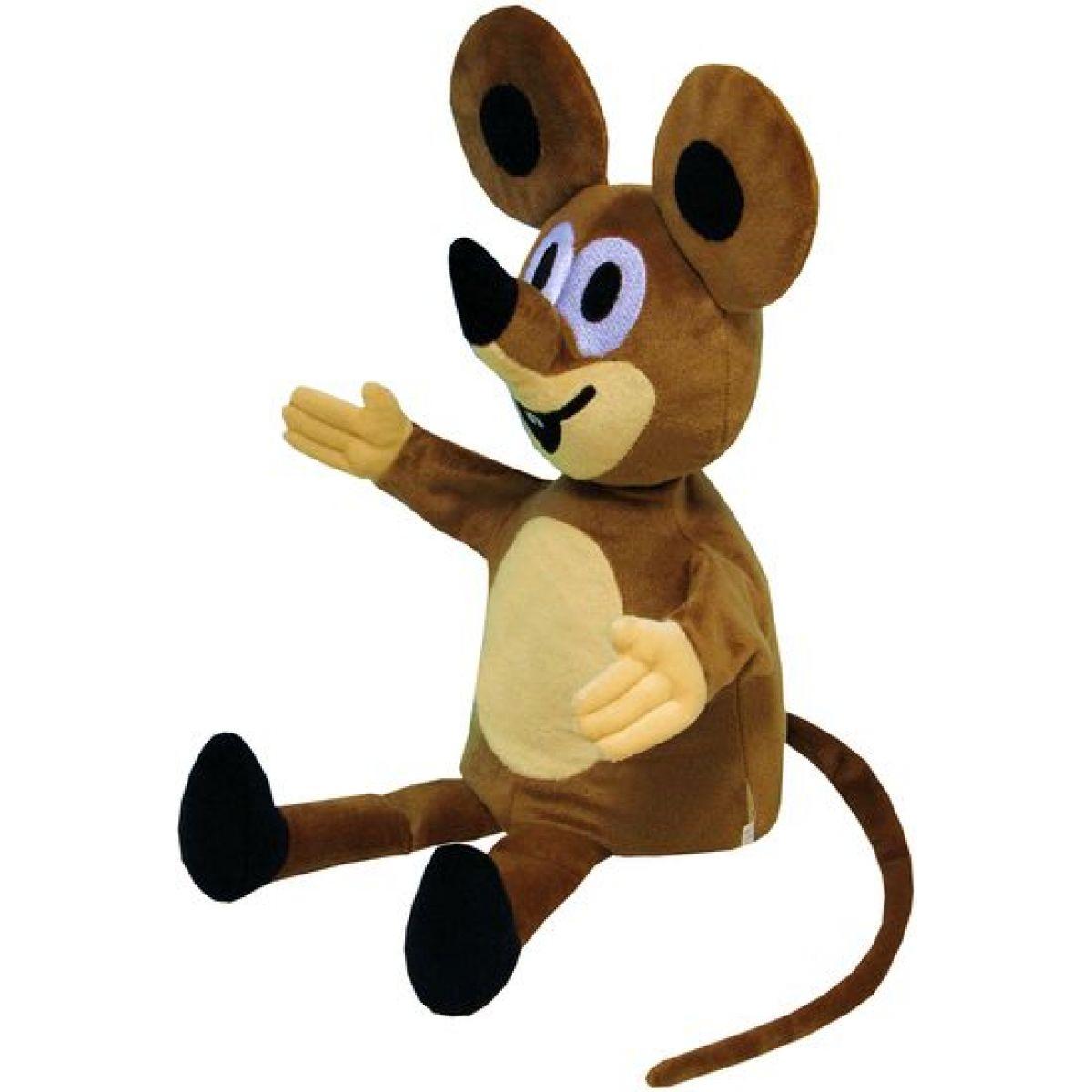 MÚ Brno Maňásek Myška 40cm