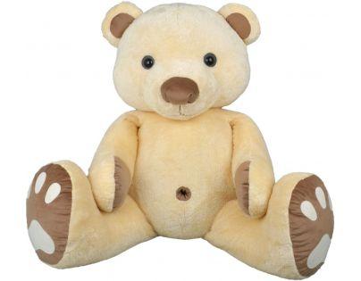 MÚ Brno Medvěd Pupík 120 cm Béžovo hnědý