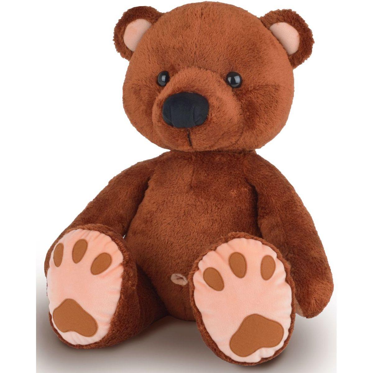 MÚ Brno Medvěd Pupík 60 cm hnědý