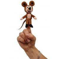 MÚ Brno Krteček Myška 8 cm Prstový maňásek