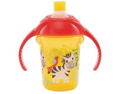 Munchkin Netekoucí hrneček Click Lock 237 ml - Žluto-oranžová