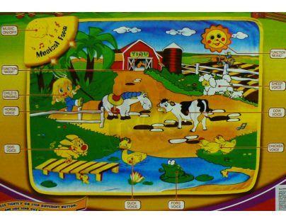 Muzikální koberec farma
