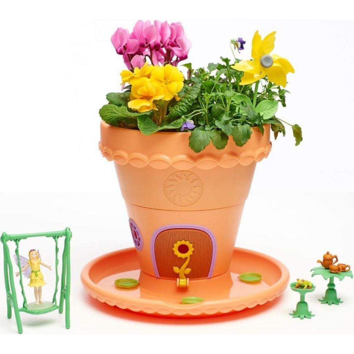 My Fairy Garden Kouzelná zahrádka květinový domeček