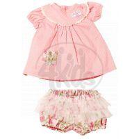 My first Baby Annabell Oblečení na děvče i chlapce - Puntikaté šaty