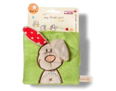 NICI 33515  - Měkká knížka s králíčkem