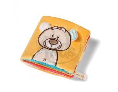 NICI 33514 - Měkká knížka s medvídkem