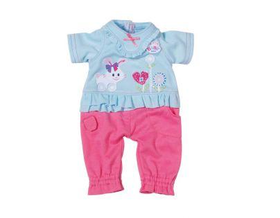My little Baby Born Dupačky - Modro-růžová