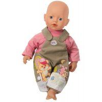 My Little Baby Born Jednodílné oblečení - Hnědo-růžová 2