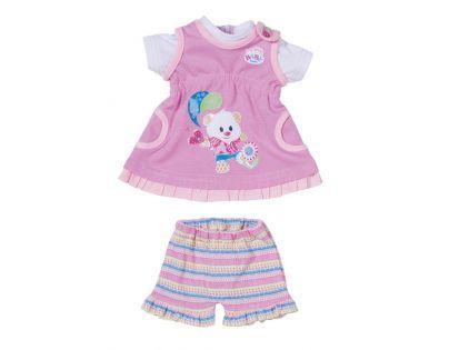 My little Baby Born Oblečení - Šatičky s medvídkem