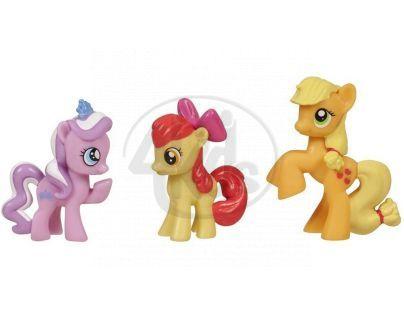 My Little Pony 3 poníci v kolekci - Dazzle Tiara, Apple Bloom, Applejack