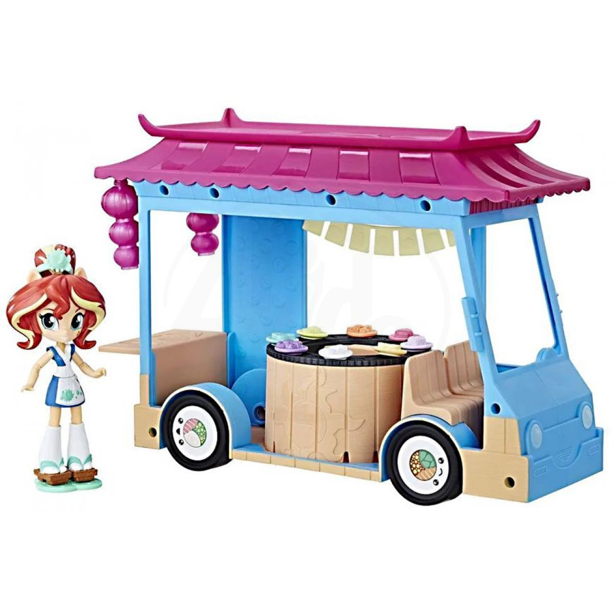 Hasbro My Little Pony Equestria Girls Minis Sushi Truck i Sunset Shimmer