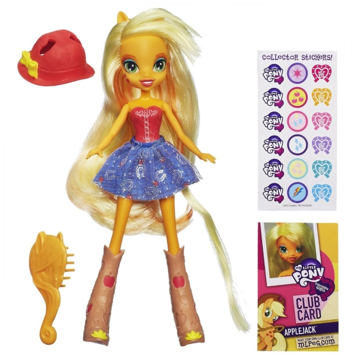 My Little Pony Equestria Girls - Apple Jeck