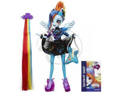 My Little Pony Equestria Girls Panenka s vlasovými dopňky - Rainbow Dash