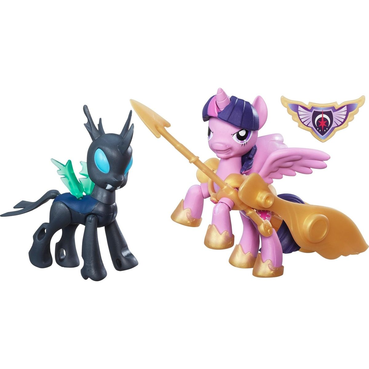 My Little Pony Guardians of harmony 2 poníci Princess Twilight Sparkle vs Changeling