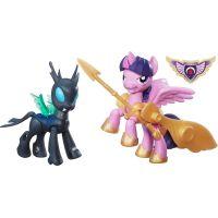 My Little Pony Guardians of harmony 2 poníci Princess Twilight Sparkle vs Changeling
