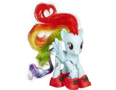 My Little Pony Poník s kloubovými body - Rainbow Dash
