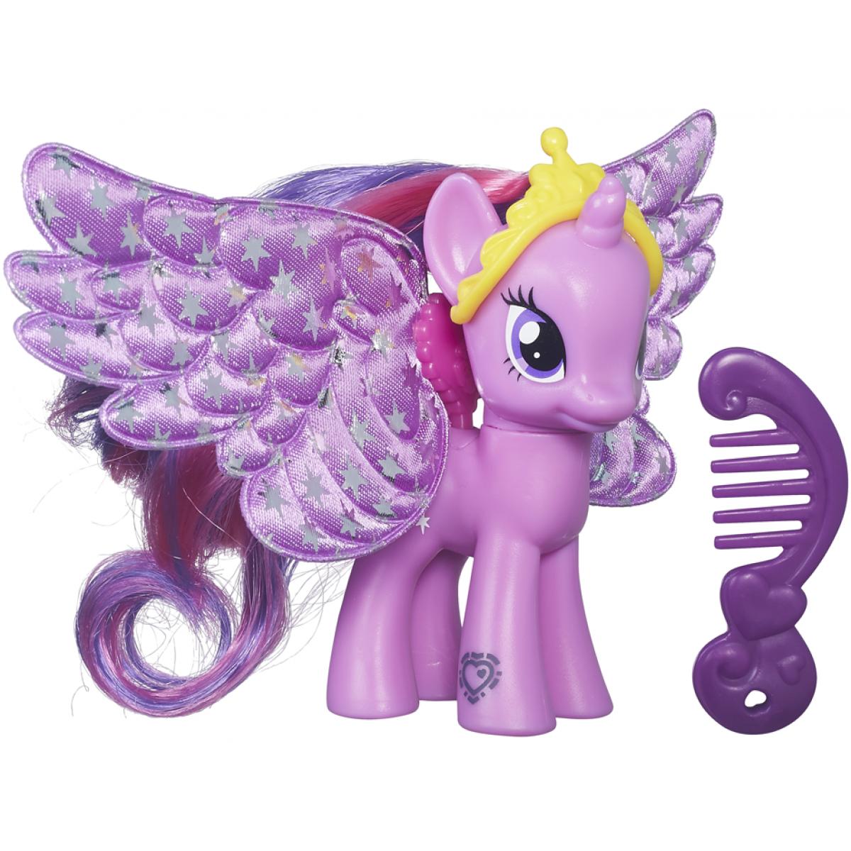 My Little Pony Poník s ozdobenými křídly - Princess Twilight Sparkle