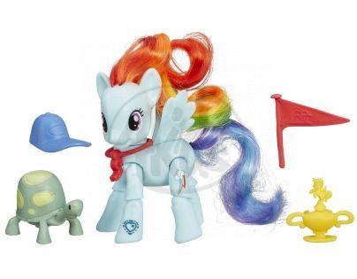 My Little Pony Poník s kamarádem a doplňky - Rainbow Dash