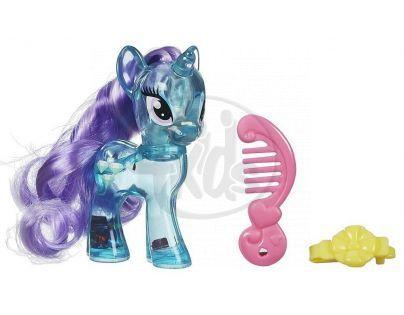 My Little Pony Průhledný poník s třpytkami a doplňkem - Diamond Mint
