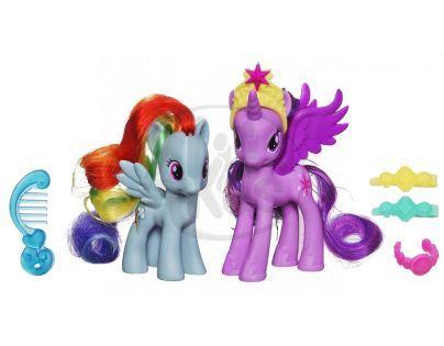 My Little Pony Princezna s kamarádkou a doplňky - Twilight Sparkle a Rainbow Dash