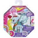My Little Pony Průhledný poník s třpytkami a doplňkem - Rainbow Dash 2