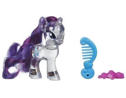 My Little Pony Průhledný poník s třpytkami a doplňkem - Rarity